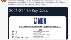 NBA: Ανακοινώθηκαν οι σημαντικές ημερομηνίες για τη νέα σεζόν