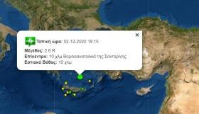 ΕΚΤΑΚΤΟ | Σεισμός στη Σαντορίνη!