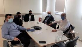 Συνάντηση με τον Διοικητή του Νοσοκομείου Θήρας για τη Θηραϊκή Πολιτεία