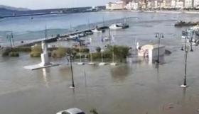 Μήνυμα και στους πολίτες την Σαντορίνης για τσουνάμι! (pic)