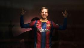 Φιάσκο με το νέο κέρινο ομοίωμα του Μέσι στο μουσείο της Βαρκελώνης!
