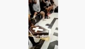 Γιόρτασαν με «φέρετρο» γενέθλια ποδοσφαιριστή στο τοπικό! (video)