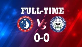 Πέταξε βαθμούς και ευκαιρίες η Σαντορίνη, 0-0 με Ασπρόπυργο