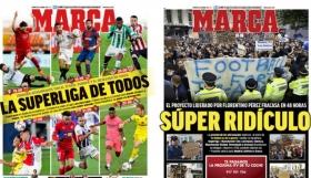 European Super League: Τα ξένα πρωτοσέλιδα εκφράζουν την κατακραυγή για την