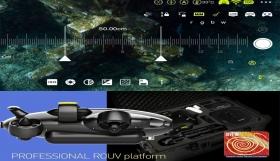 Πλατφόρμα ROV για την θαλάσσια προστασία στη Σαντορίνη.