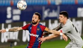 Λεβάντε - Αθλέτικ Μπιλμπάο 1-1: Ισοπαλία από την άσπρη βούλα