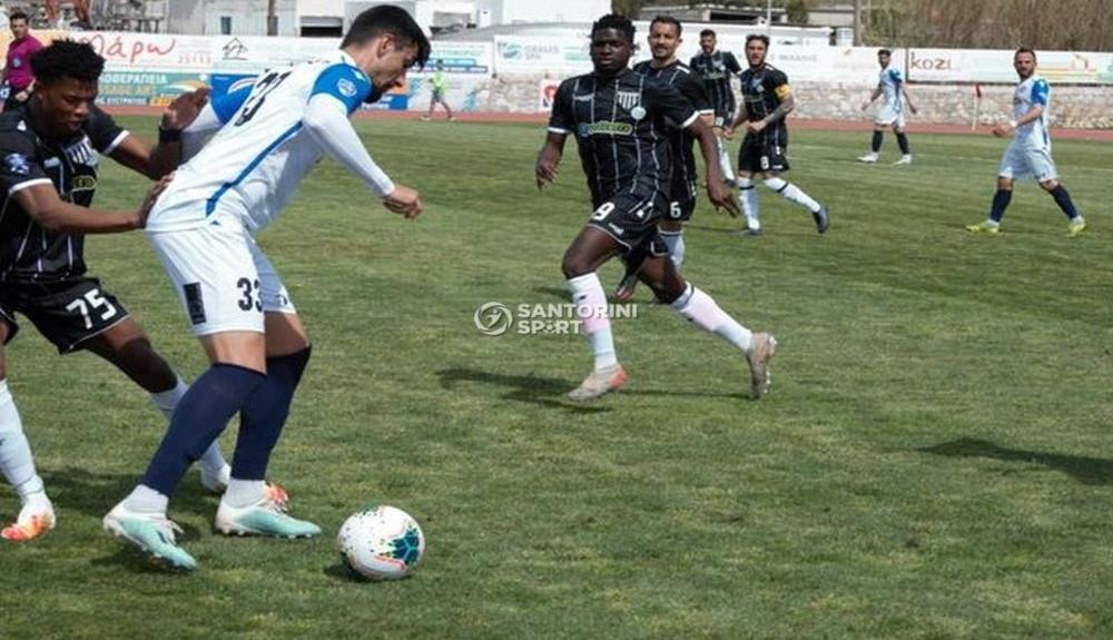 Σαντορίνη - Καλαμάτα 0-0: Εξαιρετική, άξιζε τη νίκη και με το παραπάνω!(2)