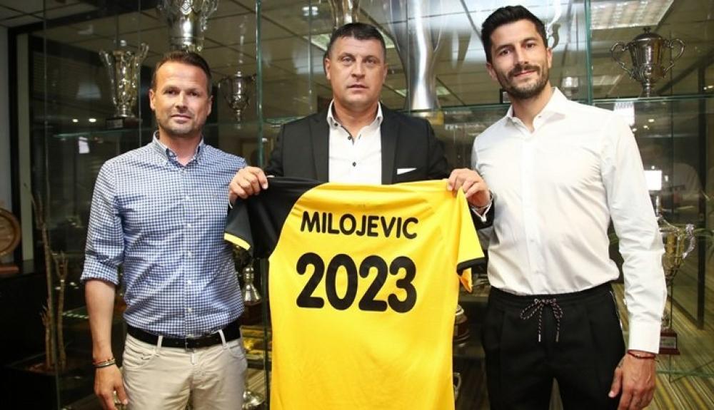 ΑΕΚ: Ανακοινώθηκε ο Βλάνταν Μιλόγεβιτς(2)