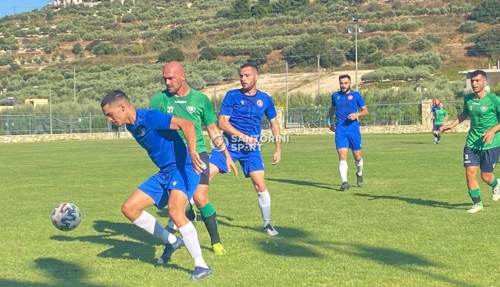 Α.Σ. Σαντορίνη 2020:  Φιλική νίκη στο Ηράκλειο- 0-1 τον Γιούχτα(2)