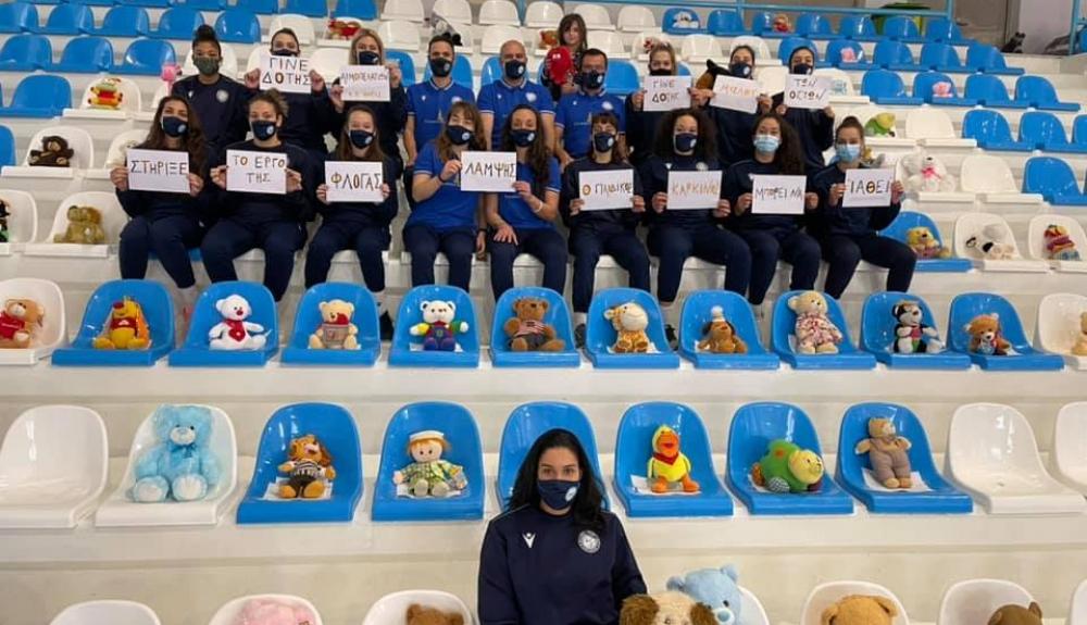 Ο Α.Ο. Θήρας τίμησε και ανέδειξε την Παγκόσμια Ημέρα κατά του Παιδικού Καρκίνου(2)
