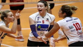 Volley League Γυναικών : Α.Ο. Λαμίας 2013 - Α.Ο. Μαρκοπούλου Revoil 0-3