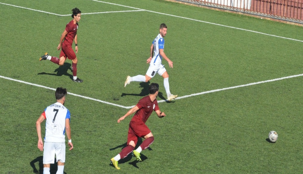Μπλόκο στον Κορύδαλλο, 2-0 η Προοδευτική άφησε εκτός Κυπέλλου την Σαντορίνη(2)