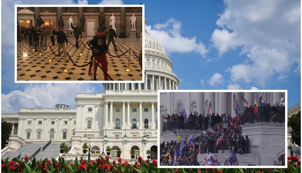 ΗΠΑ: Διαδηλωτές εισέβαλαν στην αίθουσα της Γερουσίας - Διακόπηκε η συνεδρίαση(2)